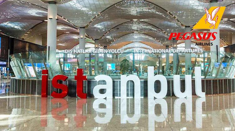 İstanbul Havalimanı Pegasus İletişim
