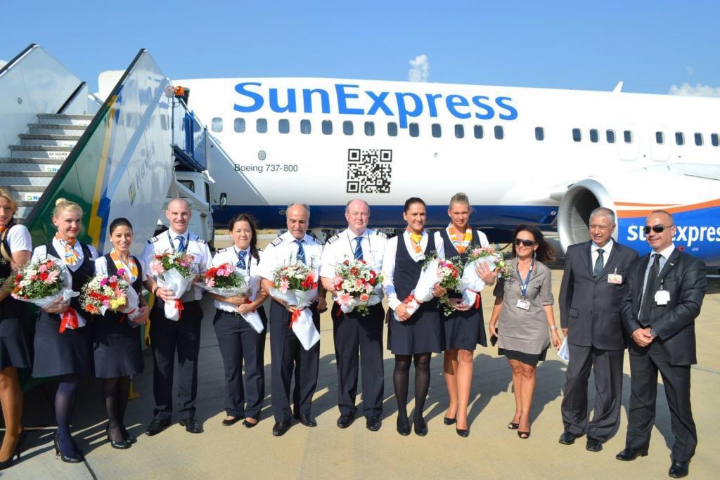 sunexpress havayolları telefon numarası